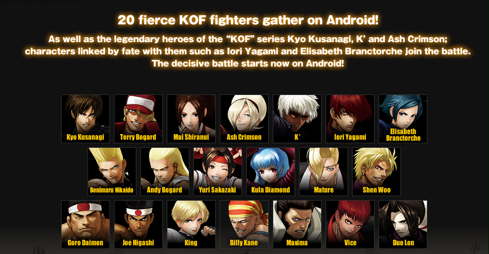 Kof Android Cracked Games