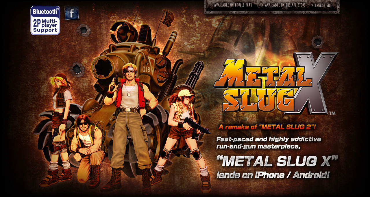 Metal Slug X Iphone Android Snk Playmore