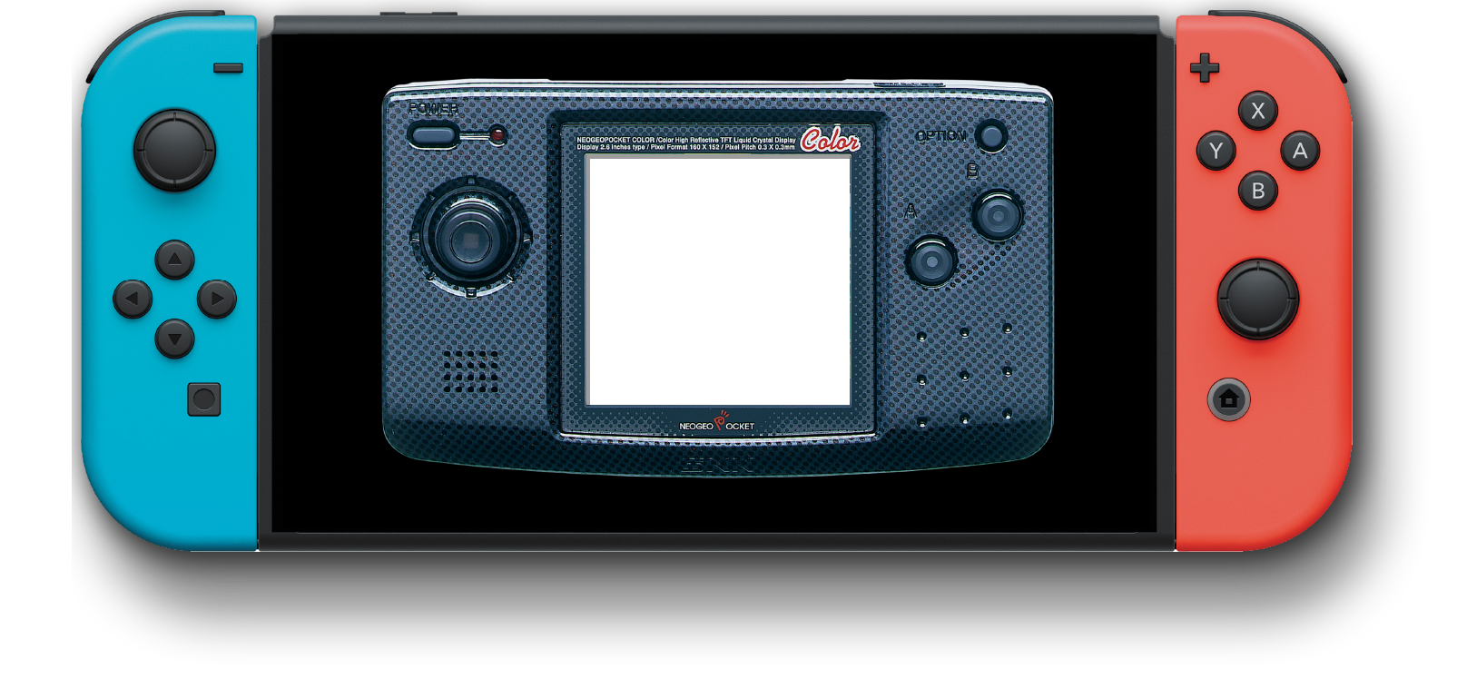 Thumbstick joystick cap Neo Geo Pocket Color replacement Neogeo NGPC colour B/&W