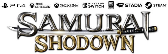 Resultado de imagem para samurai shodown logo png