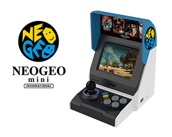 NEO GEO mini INTERNATIONAL Ver. will also be available!