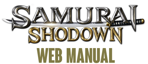 SAMURAI SHODOWN | WEB MANUAL