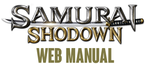 SAMURAI SHODOWN WEB MANUAL